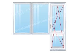 Balkonska-vrata-plus-prozorec-s-dvoen-fix